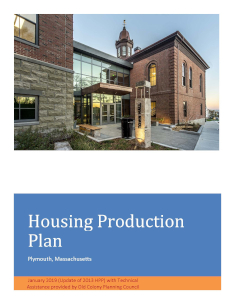 Plymouth Housing Production Plan