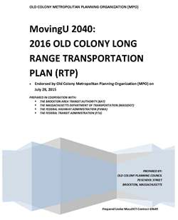 FFY 2007 Regional Transportation Plan